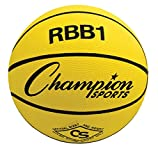 Champion Sports Rbb1 Official Rubber Outdoor Basketball (29.5/ Yellow) (Sports)