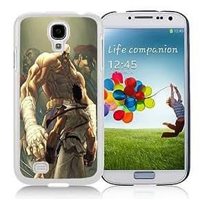 Custom Best Design Street Fighter Match Up HD-640x1136 wallpapers White Samsung Galaxy S4 i9500 Case