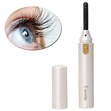 e7d6abceacf Amazon.com : Heated Eyelash Curler, Mini Electric Eyelash Curler Brush, Eyelash  Curler with Comb Long Lasting Curled, Portable Electric Makeup Eye Lashes  ...
