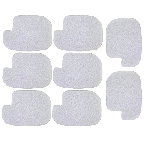 HIPA (Pack of 8) Air Filter for Poulan P3314 P3314WS P3314WSA P3416 P3516PR P3816 P4018 P4018WM P4018WT P4018WTL PP3416 PP3516 PP3816 PP4018 PPB3416 PPB4018 PPB4218 S1970 Gas Chainsaw