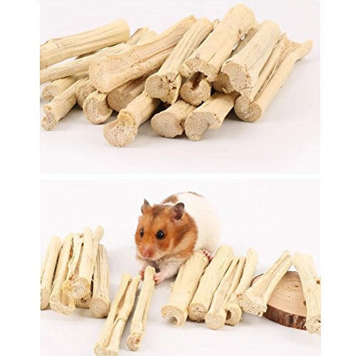 Stock Show 200g 7oz Small Pets Natural Sweet Bamboos Chew