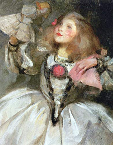 Sir James Jebusa Shannon The Doll ~ Kitty in Fancy Dress 1895 Private Collection 30
