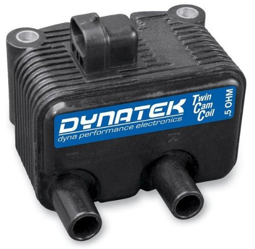 (Dynatek 0.5 Ohm Dual-Output Coil for Twin Cam Carb Models and Sportster DC6-6)