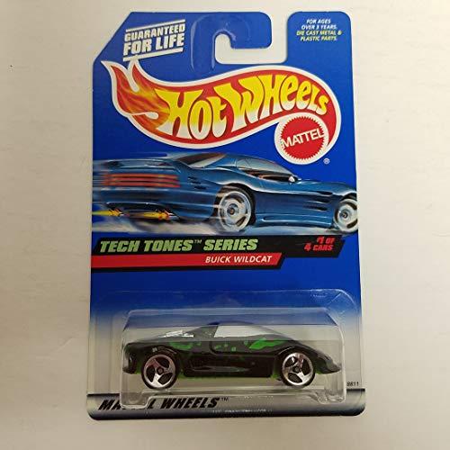 - Buick Wildcat 1998 Hot Wheels Tech Tones Series 1 of 4 1/64 Scale diecast car No. 745