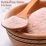Black Tai Salt Co's - (Food Grade) Himalayan Crystal Salt - Fine - 55 Lbs -- 0.5-1mm (like table salt) Freshness Guaranteed! Authenticity Guaranteed!