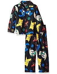 Pokemon Boys' Catch 'Em All 2-Piece Pajama Coat Set