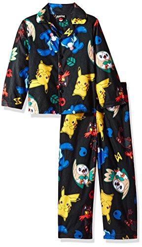 Pokemon Boys Catch em All 2-Piece Pajama Coat Set