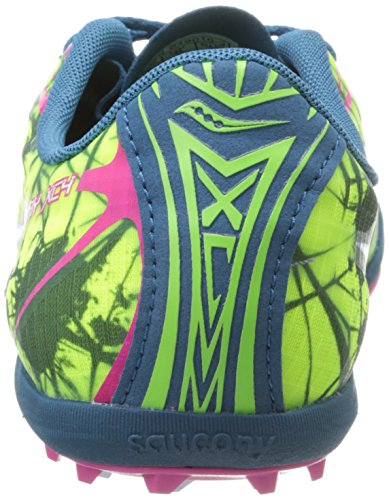 Spike Pink Saucony Navy Women's Shoe XC4 Spike Shay Citron Cross Country r7tv7xw