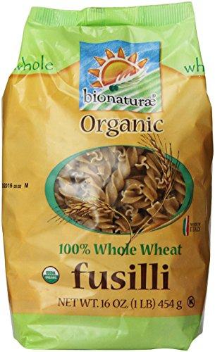 Bionaturae Organic Pasta, Whole Wheat Fusilli, 16 Oz ()
