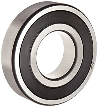 1x 6309-2RS Ball Bearing 45mm x 100mm x 25mm Rubber Seal RS 2RS  w// Snap Ring