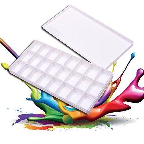 watercolor mixing tray - 4