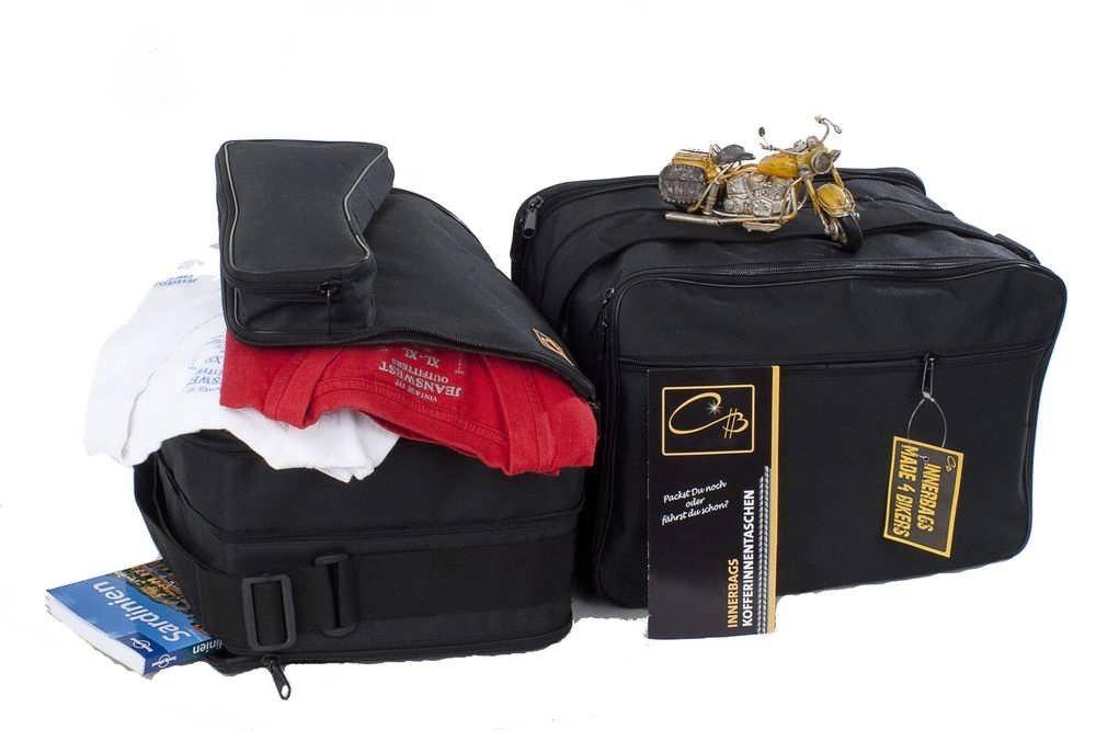 Poches int/érieures//Sacs int/érieurs pour valises lat/érales Compatible avec Les mod/èles BMW R1200GS R1200 GS a 2013 Poche ext/érieure s/épar/ée Vario made4bikers