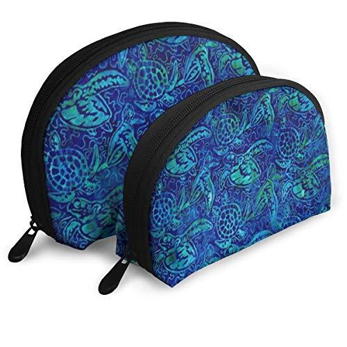 14090f9ab71 Animals Sea Turtle Portable Bags Clutch Pouch Storage Bag Coin Purse Travel Bag  Handbag Women's Bag