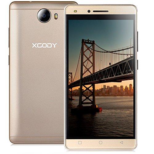 """Xgody X11 1GB/8GB 3G Unlocked Cell Phone 5"""" qHD Dual SIM"""