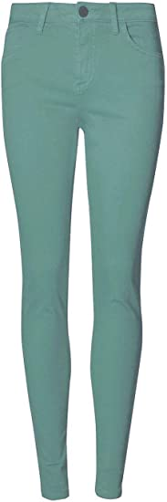 Ladies Super Skinny Coloured Jeans ex M/&S Extra Stretch Fit 6-22 All Colours