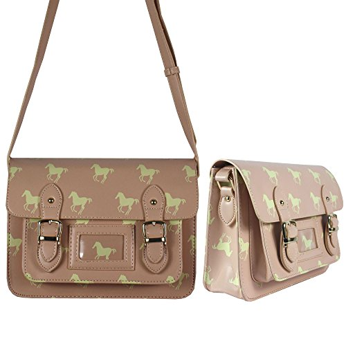 Greys-Shoulder bag, Motif: Cheval, Couleur: Rose