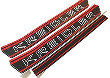 Kreidler Tank Aufkleber Sticker S W Rot Rmc Rs Rmcs Florett Mofa 14 Auto
