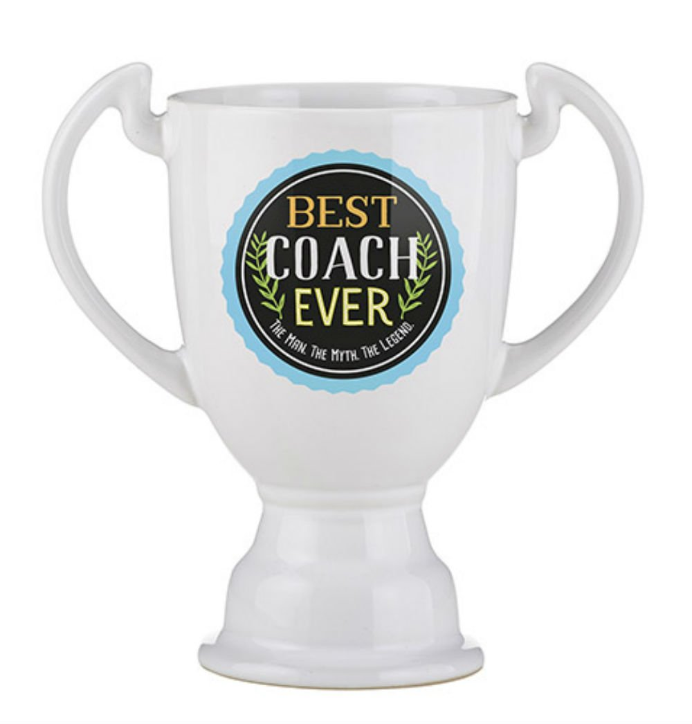 Set of 4 Trophy Mug - Best Coach Ever