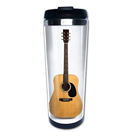 Amazon Com Kooiico Acoustic Guitar Is Isolated On The White