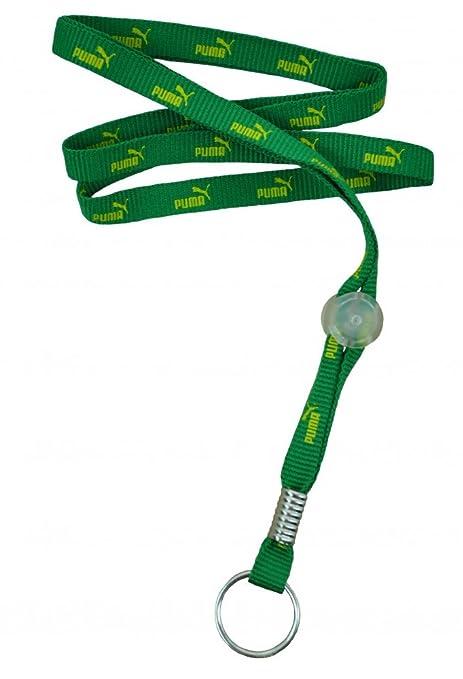 Puma lanyard llavero Collar de cordón keychain verde: Amazon ...