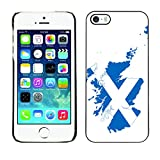 Graphic4You Scotland Scottish Flag Thin