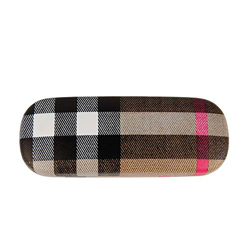 - Etdane Hard Shell Sunglasses Protable Case Box Print Protective Glasses Case Holder, Plaid