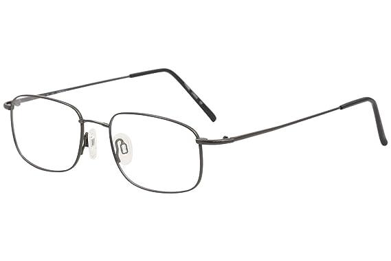 0119ef4fd3e Image Unavailable. Image not available for. Color  Flexon Flexon 610  Eyeglasses 033 Gunmetal ...