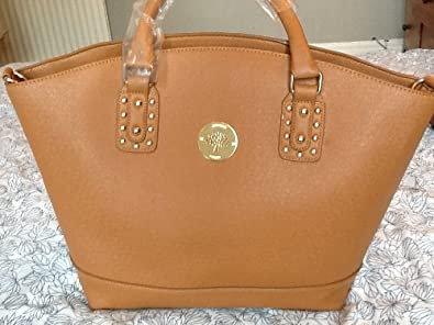 6b99a8754c18 Mulberry inspired unbranded large tote Tan Willow Style handbag  Amazon.co. uk  Shoes   Bags