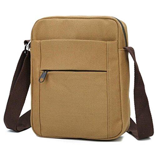 B Khaki Bag Shoulder Men's Bzline awfqv6x61