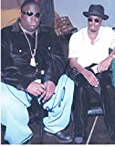 SEAN COMBS P DIDDY PUFF DADDY BAD BOY SIGNED 8X10 PHOTO AUTHENTIC AUTOGRAPH COA