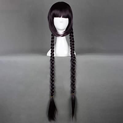 absinthe Danganronpa Synthetic Hair Wig for Cosplay and Daily Use (Toko Fukawa): Arts, Crafts & Sewing
