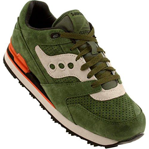 Saucony Courageous Men's Running Shoes Size US 13, Regular Width, Color Green/Beige (Size 13 Mens Saucony)