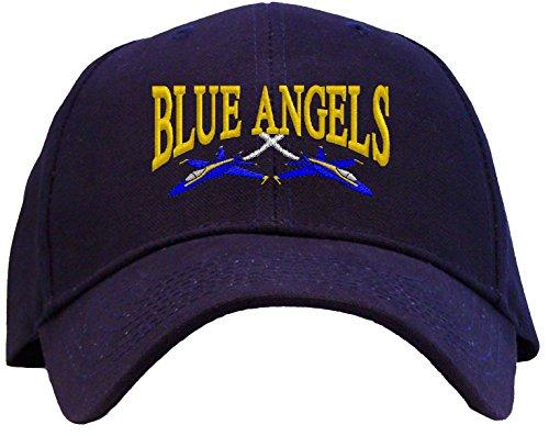 Spiffy Custom Gifts U.S. Navy Blue Angels Embroidered Pro Sport Baseball Cap Navy