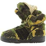 Adidas JS Camo Bear I by Jeremy Scott / Earth Green