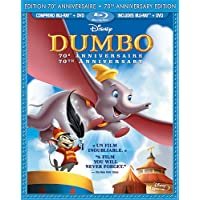 Dumbo: 70th Anniversary Edition - 2-Disc BD Bilingue Combo Pack (BD+DVD) [Blu-ray] (Bilingual)