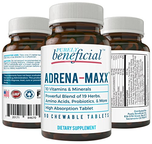 ADRENA-MAXX-Natural-Adrenal-Supplement-Fatigue-Relief-Supports-Adrenal-Function-Stress-Response-Enhanced-Energy-Pure-Organic-Ingredients–from-PURELY-benefical