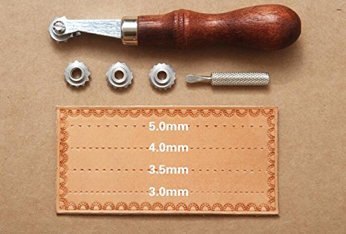 Wheel Leather Sewing Stitch Spacing leathercraft Spacer Embossing System Set Overstitch Wheel Tool Moldds 4336864153