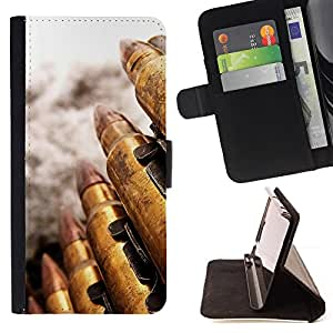 DEVIL CASE - FOR LG OPTIMUS L90 - Bullet - Style PU Leather Case Wallet Flip Stand Flap Closure Cover