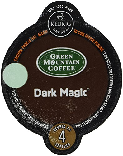 32 Count - Green Mountain Dark Magic Vue Cup Coffee For Keurig Vue Brewers by Green Mountain Coffee