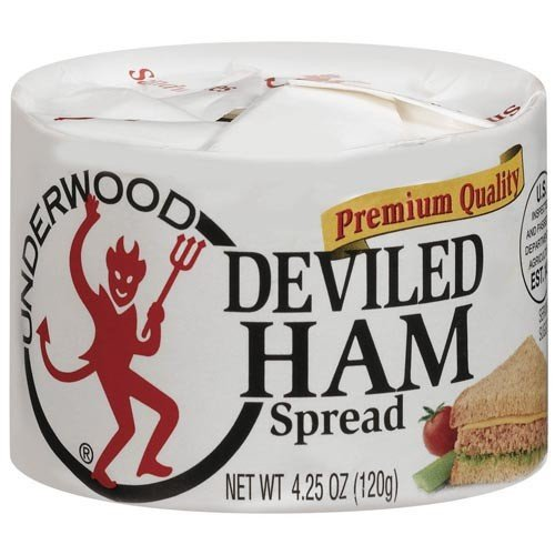 Underwood Deviled Ham Spread, 4.25 oz (Pack of 2)
