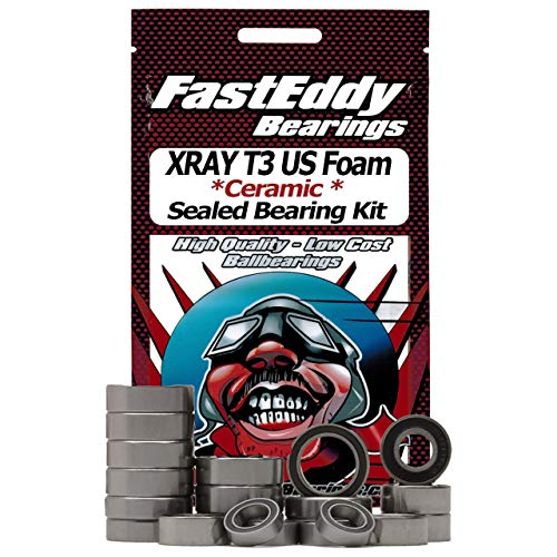 XRAY T3 US Foam Ceramic Rubber Sealed Ball Bearing for sale  Delivered anywhere in USA