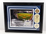 Highland Mint Yankee Stadium Photo with Coin and Dirt MLB COA Framed DA025239 - MLB Game Used