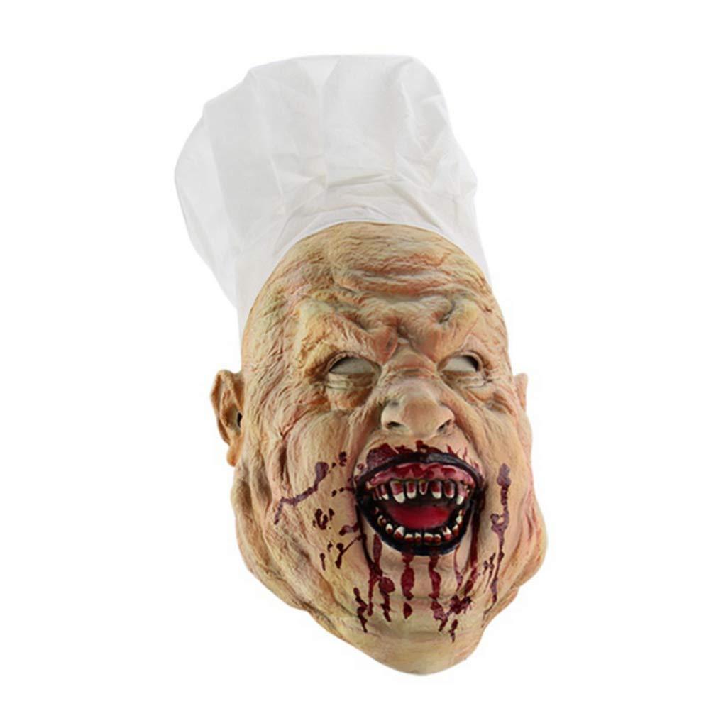 Amazon.com: Máscara de látex para Halloween, para hombre ...