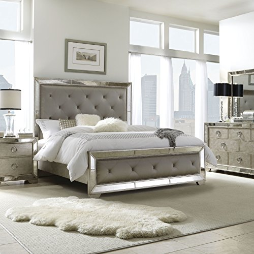 - Pulaski Farrah Wood Bed California King