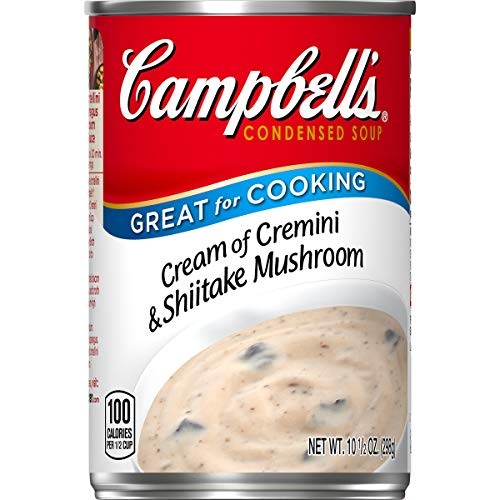 Campbell's Condensed Cream of Cremini & Shiitake Mushroom Soup, 10.5 oz. Can (Pack of 12) ()