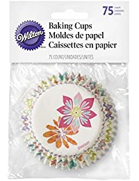 Favor 415-7909 Wilton Spring Flowers Baking Cups, 75-Count by Wilton wholesale