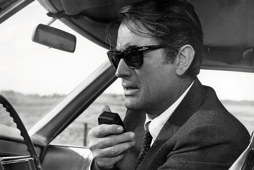 Gregory Peck Looking Cool in 1960's Sunglasses in Marooned 24x36 - Peck Sunglasses Gregory