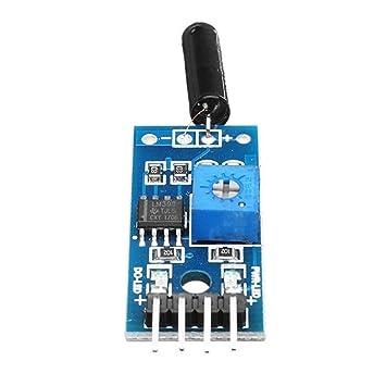 DASEXY Metro 20pcs 3.3-5V Módulo de Sensor de vibración de 3 ...