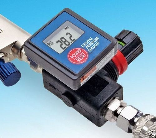 - Digital Spray Paint Gun Air Pressure Regulator Gauge