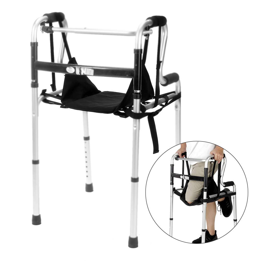 Knee Walkers Sling Hanging Knee Walker Pad Cover Cushion Patient Medical Safety Lifts Leg Sling for Foot Injuries for Elderly, Adults by NEPPT